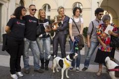 Primo anniversario liberazione dei Beagle di GreenHill - Foto Relogic (C)