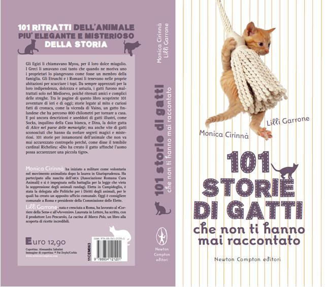 Copertina 101 Storie di Gatti