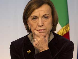 La ministra Elsa Fornero