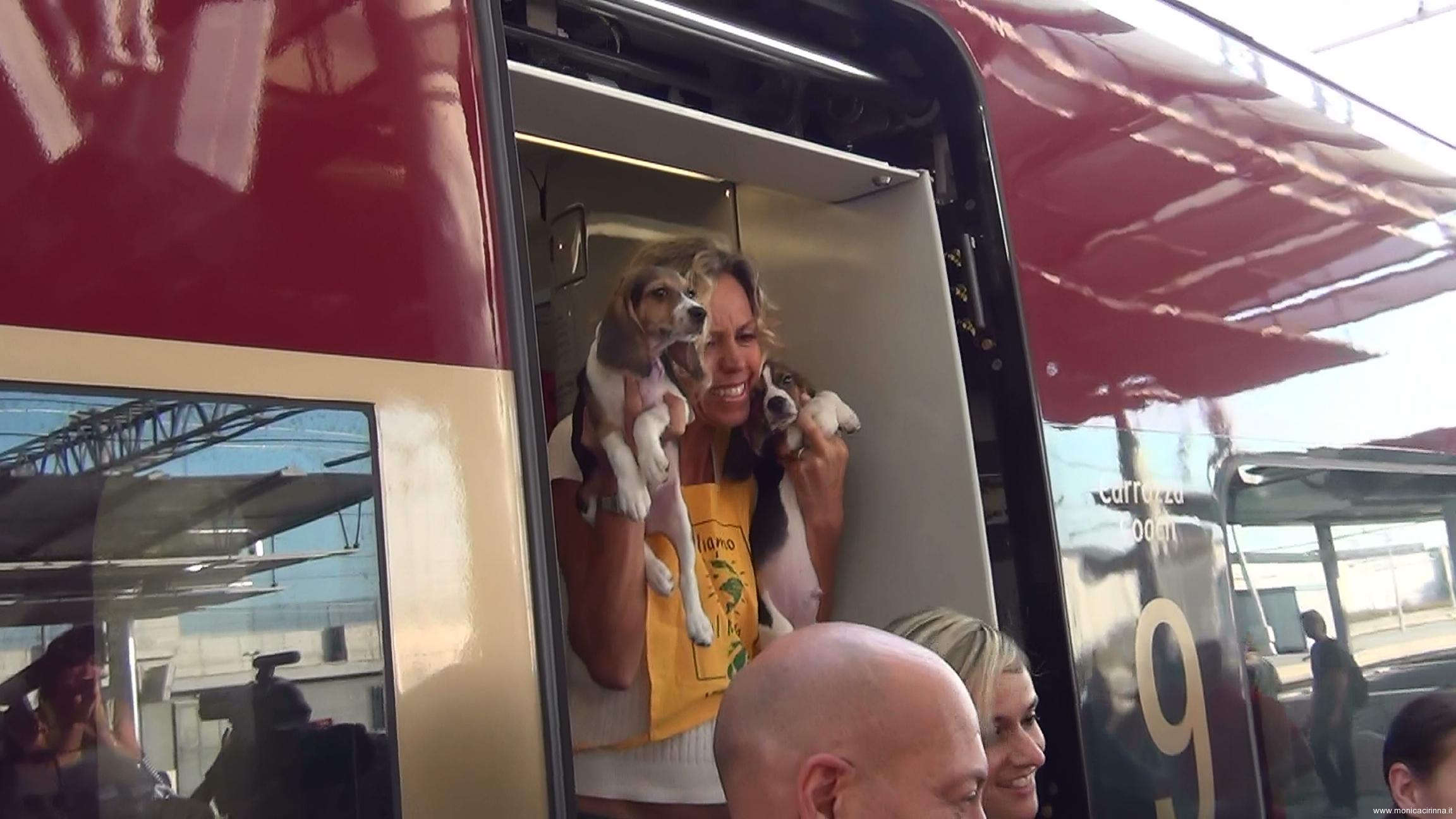 Monica Cirinnà Arrivo di Libera a Roma