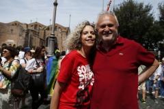 Monica Cirinnà ed Esterino Montino
