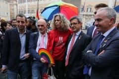 Monica Cirinnà, Sergio Lo Giudice, Aurelio Mancuso