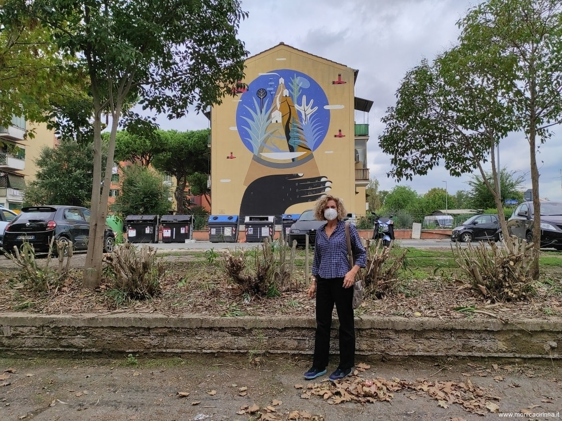 Monica Cirinnà a San Basilio