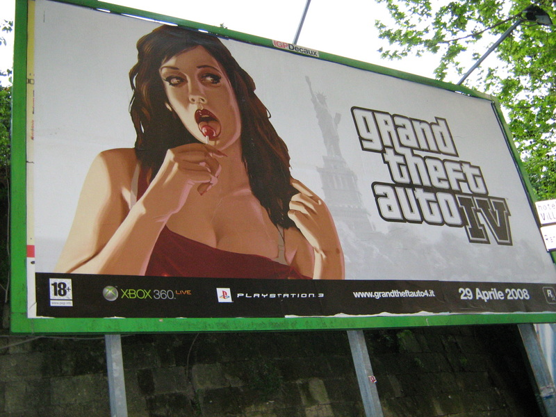 Cartellone pubblicitario