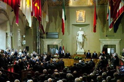 Sala Giulio Cesare - Consiglio Comunale Roma Capitale