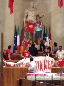 Svendita ACEA: la protesta di Monica Cirinnà e del PD