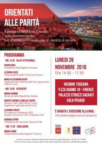 Orientati-alle-parita lunedi 28 11 2016 h 14.30 Firenze