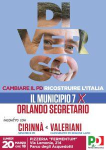 Incontro Orlando Roma