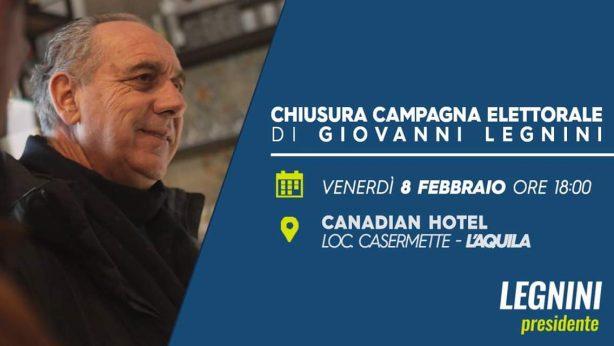 Elezioni Abruzzo - Legnini Presidente