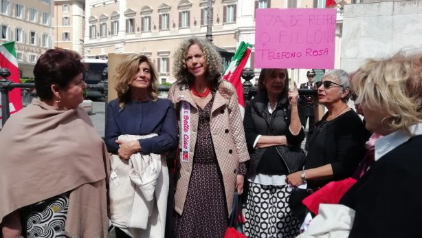 Incontro con le associazioni a Piazza Monte Citorio
