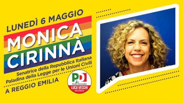 Monica Cirinnà a Reggio Emilia