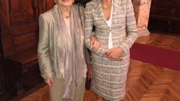 Monica Cirinnà e Liliana Segre